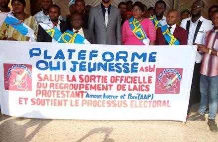 RDC : la plateforme «Oui Jeunesse» apporte son soutien au projet RAM et met en garde tout un individu qui intoxique la population