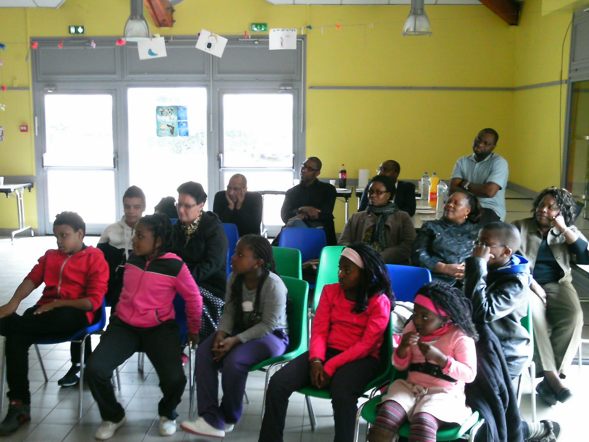 Séance d'éveil culturel pour les jeunes enfants