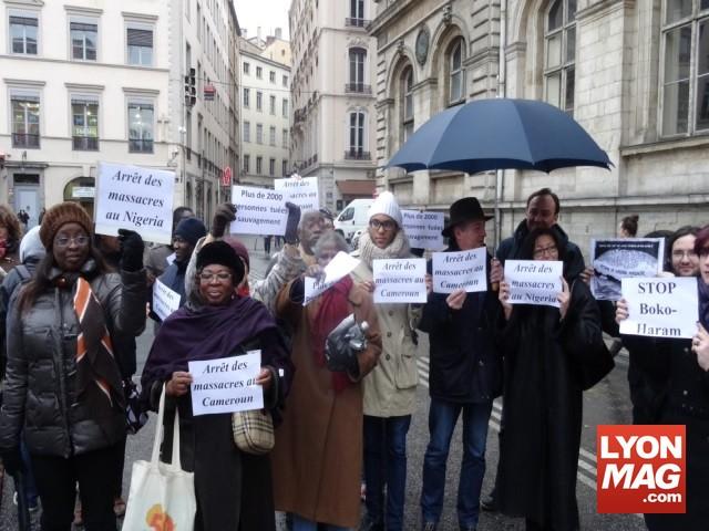 """""""Lyon : 80 personnes demandent l'arrêt des massacres commis par Boko Haram"""""""