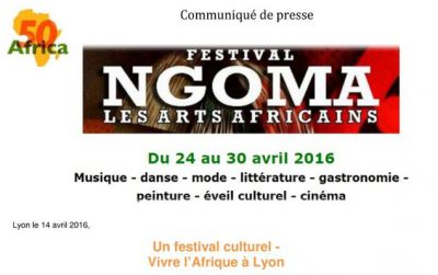 CP NGOMA LES ARTS AFRICAINS 2016