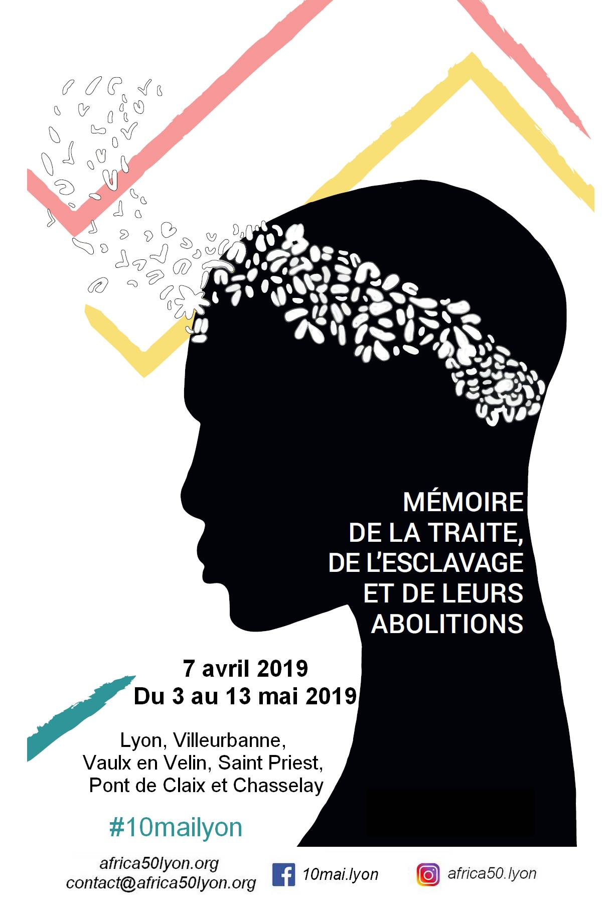[MEMOIRE] Dizaine de commémoration de l'abolition de l'esclavage 2019 #10mailyon – Le programme
