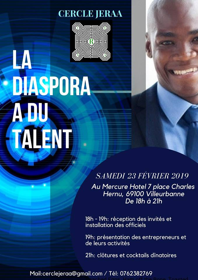 [BUSINESS] Soirée de lancement du Cercle JERAA samedi 23 février 2019 à Villeurbanne