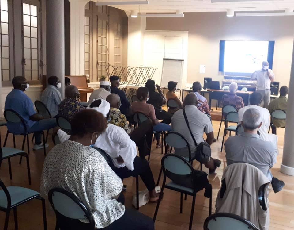 [VIE DU COLLECTIF] Le comité de coordination élu à l'occasion de l'Assemblée Générale du collectif Africa 50 samedi 19 septembre 2020 à Lyon