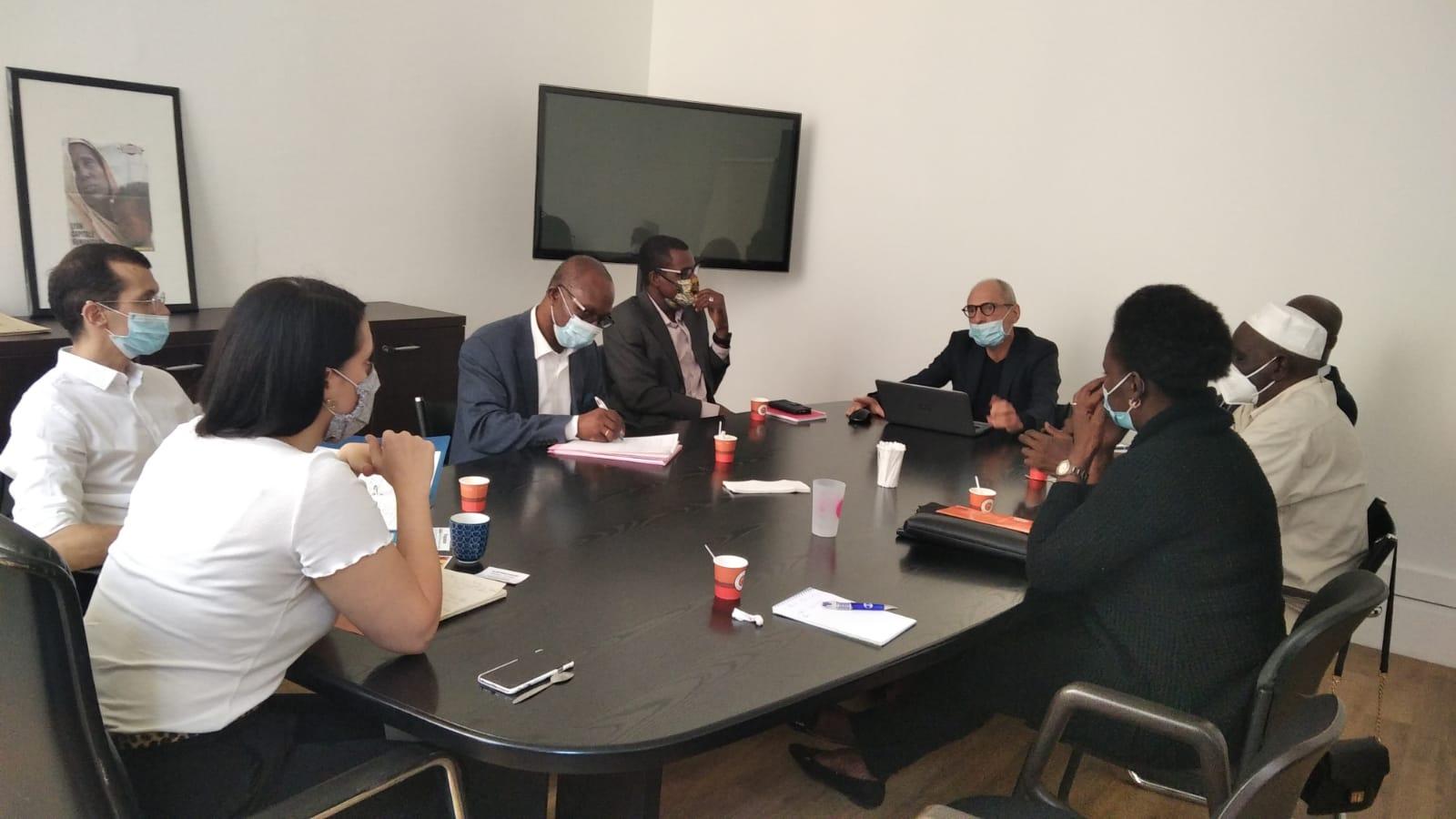 [RENCONTRE] Une délégation d'Africa 50 a rencontré Mme Sonia ZDOROVTZOFF la nouvelle adjointe aux relations internationales de la ville de Lyon Mercredi 2 septembre 2020