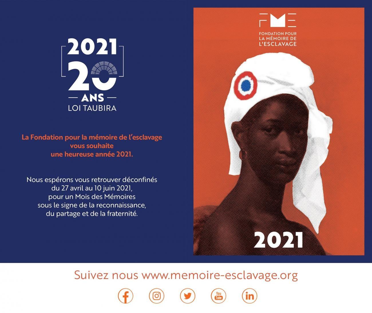 [MEMOIRE] Africa 50 obtient le label de la Fondation pour la Mémoire de l'Esclavage (FME) pour le Mois des Mémoires 2021