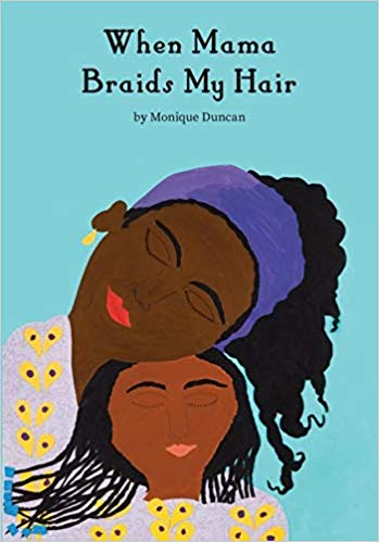When Mama Braids My Hair Book Cover
