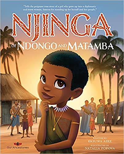Njinga of Ndongo and Matamba Book Cover