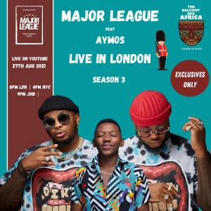 Major League Djz – Amapiano Balcony Mix Africa Live with (Aymos)