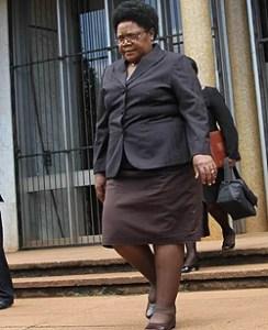 Joice Mujuru: sacked from government