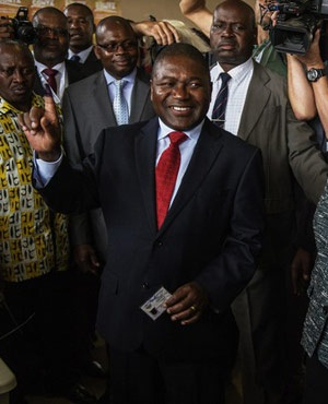 Mozambique's President Nyusi: more capable than many expected