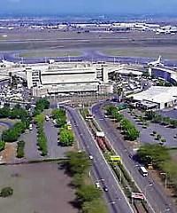 Aerial view of Jomo Kenyatta airport