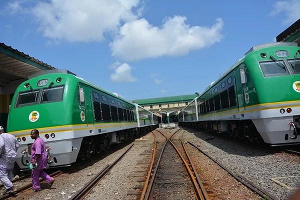 The Abuja-Kaduna high speed railway
