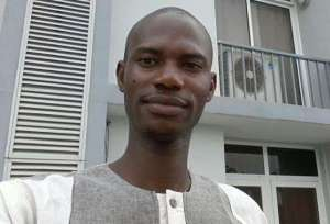Emmanuel Ojo. Blogger who allegedly defamed the Ogun state first lady-Mrs. Olufunso
