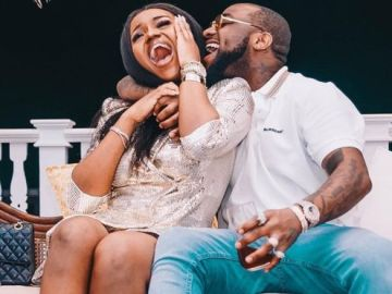 davido and chioma
