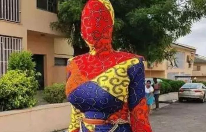 Check Out A Picture Of A Slay Queen That Is Causing Uproar In Social Media (+Photo