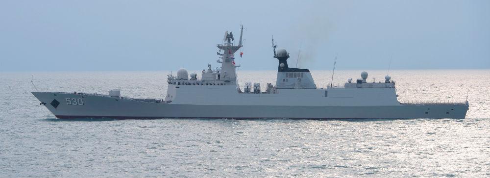 PLA Navy frigate Xuzhou