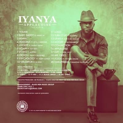 Iyanya Reveals Applaudise Album Track List + Cover ...