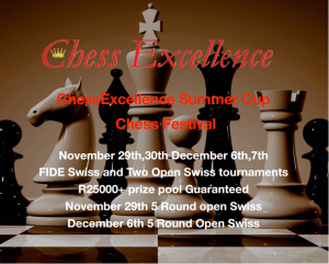 Chess Excellence tourney
