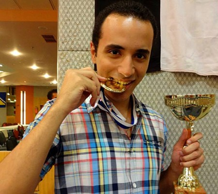 Winner of the 9th Mediterranean Individual Chess Championships in Greece / Photo by Elena Boric