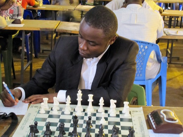 Joseph Methu at the 2015 Kiambu Open / Photo by Kim Bhari