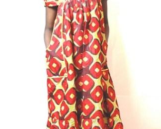 robe grille africadada