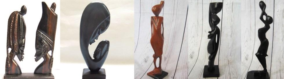 arte africano estatuas africanas home page