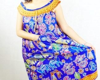 african fabrics woman dress