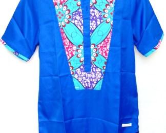 chemisette bleu dada