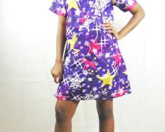 woman dress dadastyle african fabric