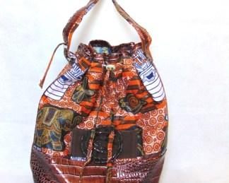 sac a une corde marron