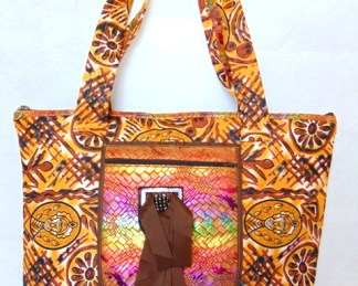 woman Rainbow handbag