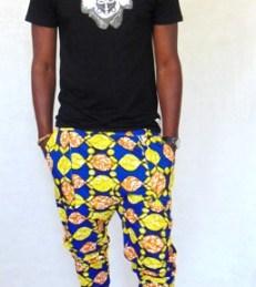 pantacourt africain homme