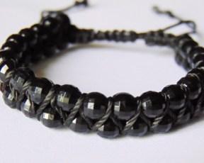African Double Weave Bracelet