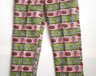 pantaloni africani verdi
