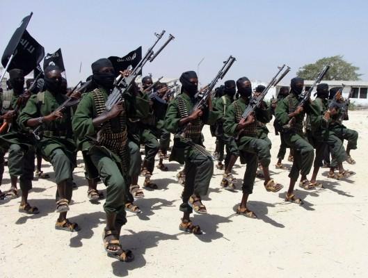 Milicias Al Shabab en Somalia