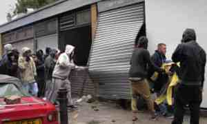london looting