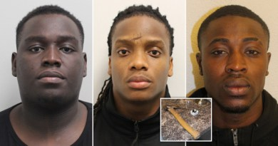 Three thugs jailed for raping prostitutes in a London brothel