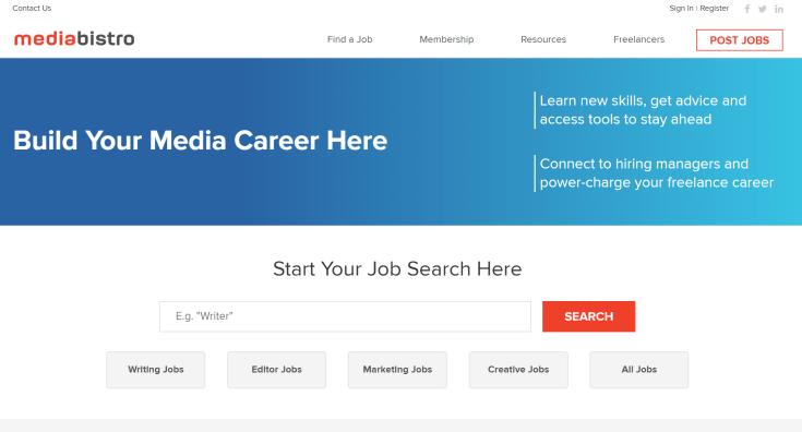 Media Bistro Job Board