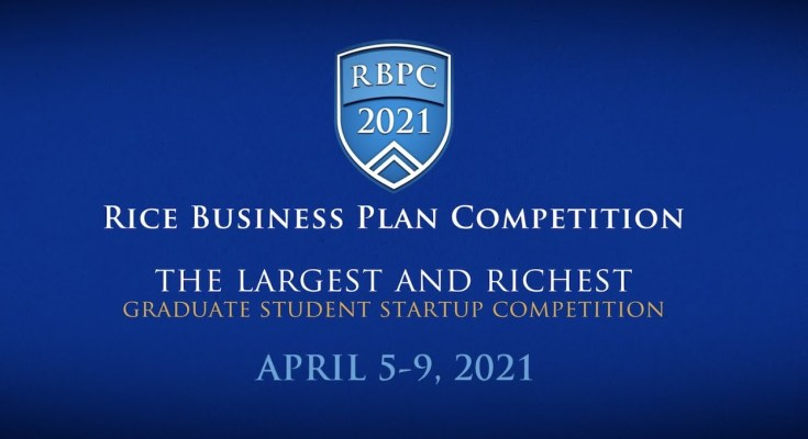 The Rice Business Plan Competition