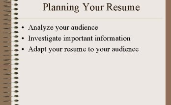 How To Adapt Your Resume Format in Canada