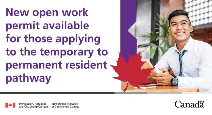 New Open Work Permit Option
