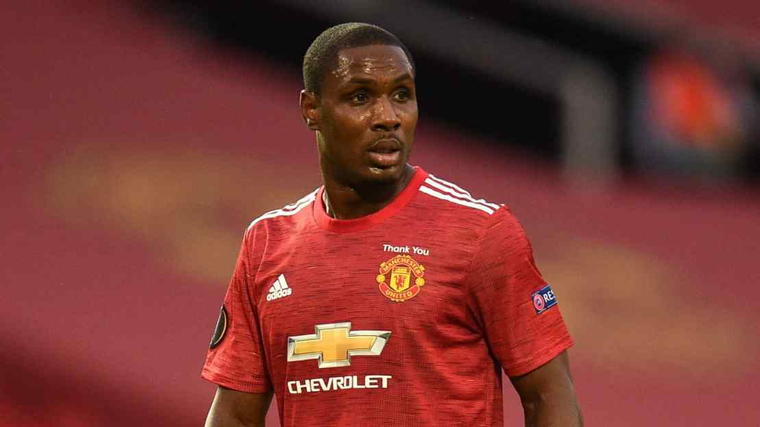 Odion Ighalo à Manchester United