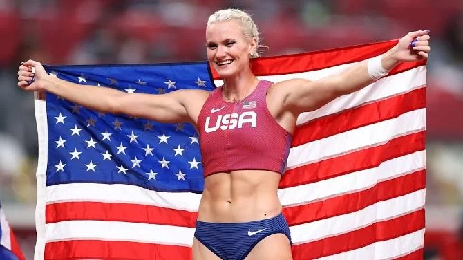 2020 Olympics: Katie Nageotte triumphs in ladies's pole vault occasion