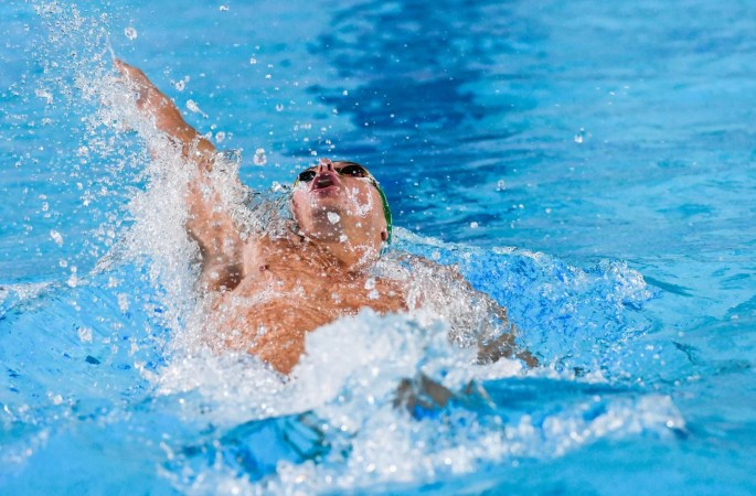 Swimming – African Championships: Martin Binedell wins gold within the 200m backstroke