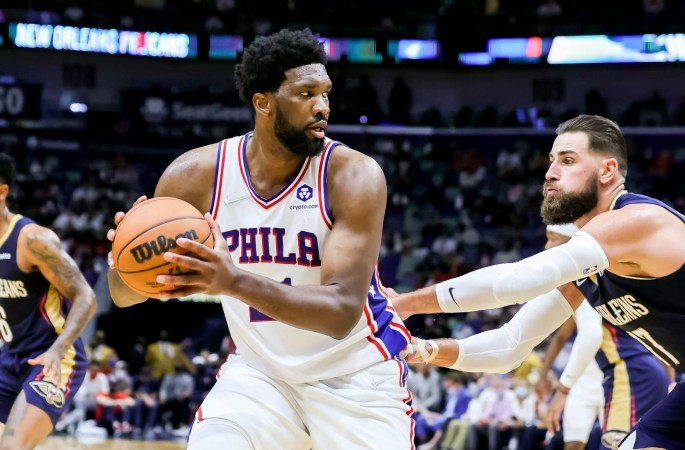 Basketball – NBA: Joel Embiid and Philadelphia 76ers dominate the New Orleans Pelicans