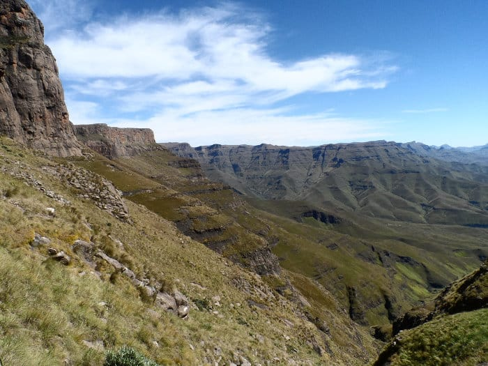 Northern Drakensberg is just further north than the Southern Drakensberg