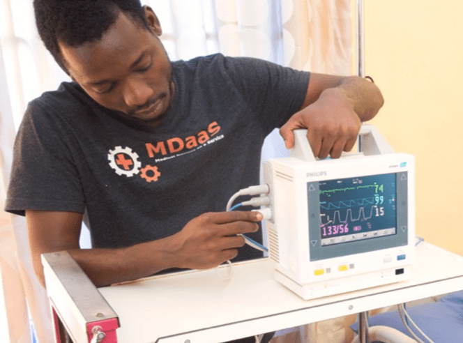 MDaaS brings high-end medical diagnostics to low-income communities.