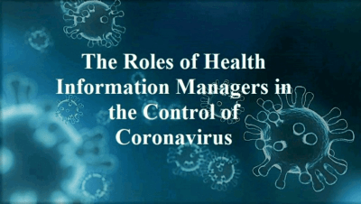 The roles of heralth managers in the control of coronavirus