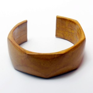 Yellow African Leather Bracelet