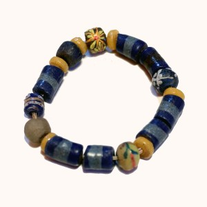Dark Blue African Trade Beads